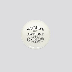 World's Most Amazing Son-In-Law Mini Button